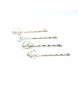 Clip Strass, Pack 4